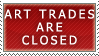 Art Trades- Closed Stamp by Icelilly