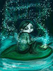 Zariya in cildhood by mrTandM