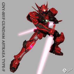GNY-001F GUNDAM ASTRAEA d.s by Ladav01