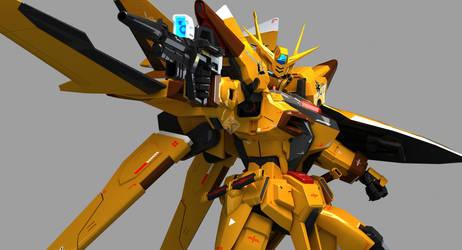 ORB-01 Akatsuki Gundam Oowashipack by Ladav01