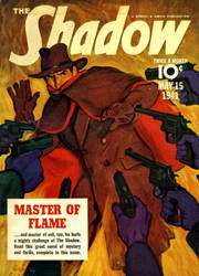 The Shadow - Master of Flame cover by SavageScribe