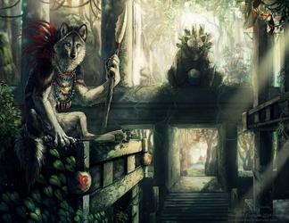 Werewolf Calendar 2014 by NukeRooster