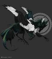 Magpie Feonix by NukeRooster
