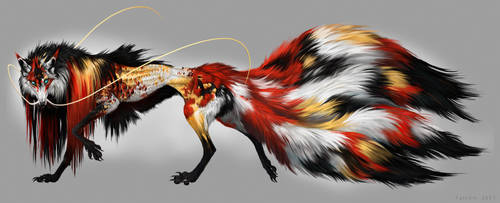 Koi Kitsune by NukeRooster