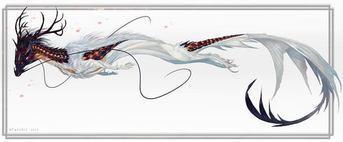 Fire Guardian Kitsune by NukeRooster