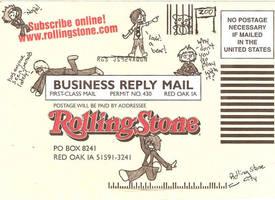 MCR Rollingstones Random by Nomy-chan