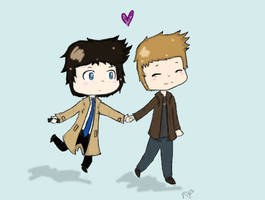 come'on Cas by Nomy-chan