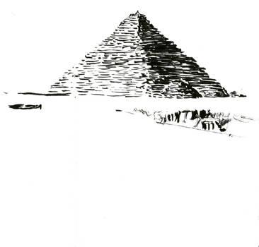 Ink pyramid by Valerian32