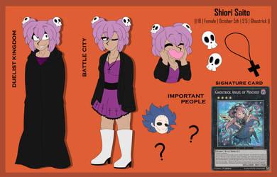 [Yu-Gi-Oh!] Shiori Saito by hopeless-zombie