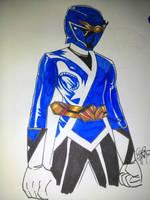 Wild Bushido Blue by DynamicSavior