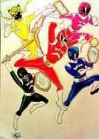 Bacharu Sentai Shiaiger by DynamicSavior