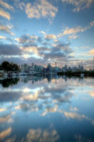 Mirrored Clouds by MarkLucey