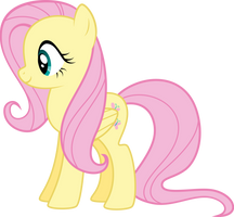 Fluttershy by SilverVectors