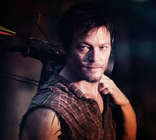 The Walking Dead - Daryl Dixon by PabloSarantakos
