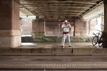 Homeless in Amsterdam by B0rrach0