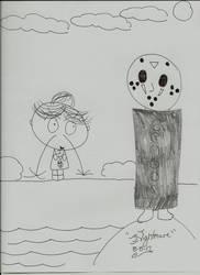 Fangirl comic: Nosebleed II by livingnightmare1992