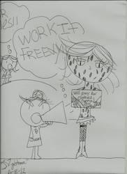 Fangirl comic: Slave Freddy II by livingnightmare1992