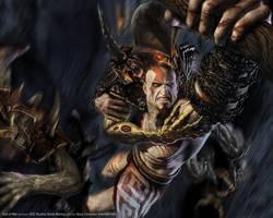 god of war wallpaper by mephistotheles999