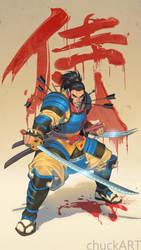 Samurai Wolvie by ChuckARTT