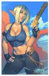 Shadowrun OC by ChuckARTT