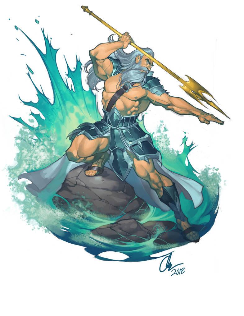 Poseidon by ChuckARTT