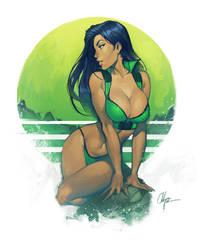 Green by ChuckARTT