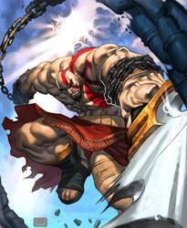 kratos by ChuckARTT