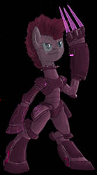 Pinkie battle suit by decompressor