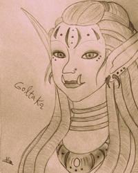 Innkeeper Goltaka by NinaTsuki