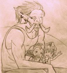 Dey Got Big Horns! by NinaTsuki