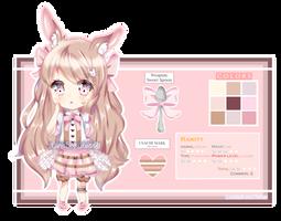 [CLOSED] Adoptable Raffle ~ Sweet Bunny by Hinamico