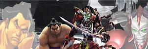 Tekken 6: Ganryu/Yoshimitsu by lonerpx