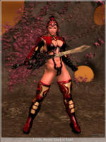 Uvula, Sword Maid of Mars by rrward