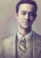 Joseph Gordon-Levitt: smile by Lady-Werewolf