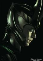 Tom Hiddleston: Loki by Lady-Werewolf