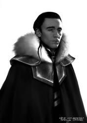 Loki: Icy land by Lady-Werewolf