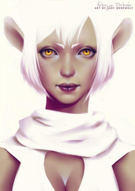 Weird ears by Lady-Werewolf