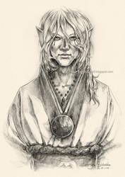 Medicine Seller (sketch) by Lady-Werewolf