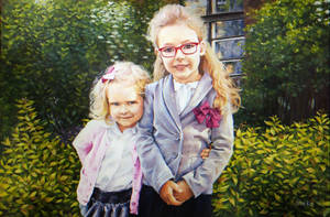 Little Sisters by Lady-Werewolf