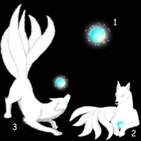 Squiby Kitsune-White by Gingitsune-Lady-Fox