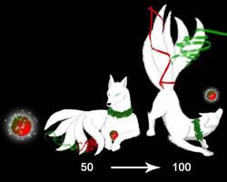 Squiby Kitsune-Christmas by Gingitsune-Lady-Fox