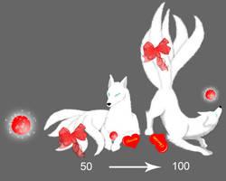 Squiby Kitsune - Valentine by Gingitsune-Lady-Fox
