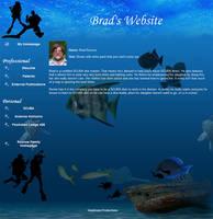 Brad's Website by Gingitsune-Lady-Fox