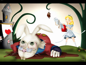 Alice in Wonderland by pepey