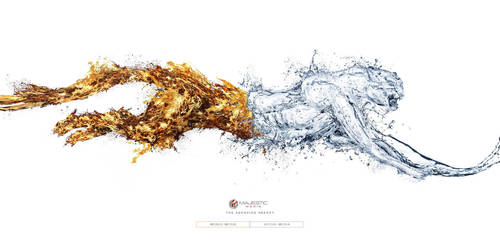 Majestic Media- Fire n Water by pepey