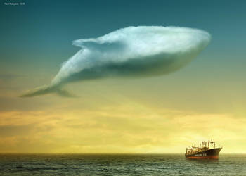 Cloud - Blue Whale version by pepey