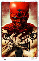 Ultimate Red Skull Colored by rapnex