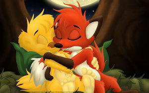 hugo and rita cuddling by hugo4rita