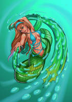 Mermaid by EchoPanda