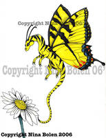 Tiger Swallowtail Dragonfly by The-GoblinQueen